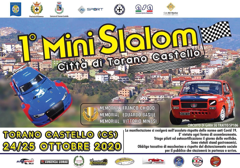 1° MINI SLALOM CITTA' DI TORANO CASTELLO