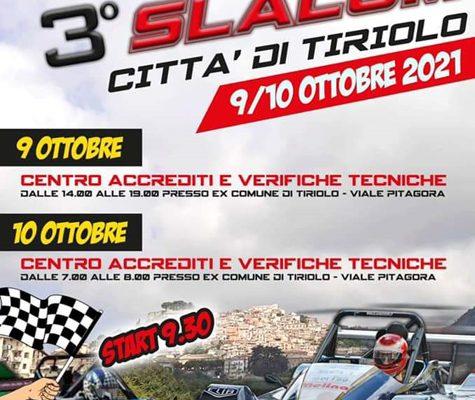 3° SLALOM CITTA' DI TIRIOLO